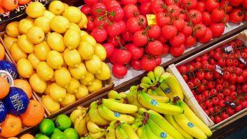 Consumi frutta e verdura in aumento
